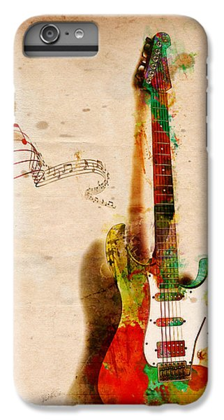 Guitar iPhone 6s Plus Case - My Guitar Can Sing by Nikki Smith