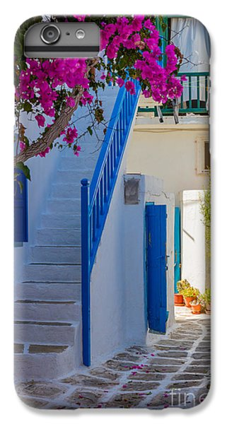 Greece iPhone 6s Plus Case - Mykonos Staircase by Inge Johnsson
