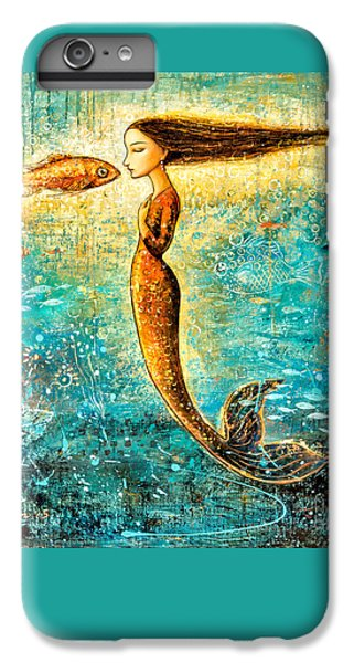 Extinct And Mythical iPhone 6s Plus Case - Mystic Mermaid Iv by Shijun Munns