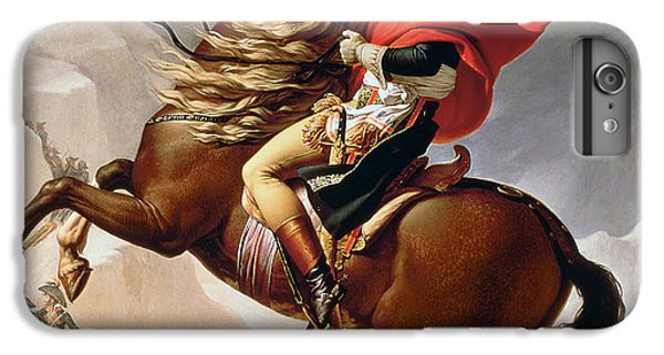 Horse iPhone 6s Plus Case - Napoleon Crossing The Alps by Jacques Louis David