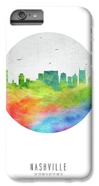 Nashville Skyline Ustnna20 IPhone 6s Plus Case by Aged Pixel