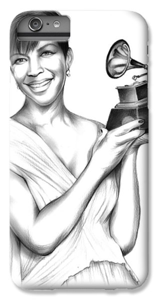 Rhythm And Blues iPhone 6s Plus Case - Natalie Cole by Greg Joens