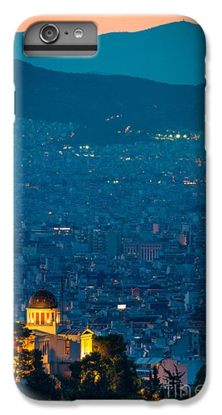 Greece iPhone 6s Plus Case - National Observatory Of Athens by Inge Johnsson