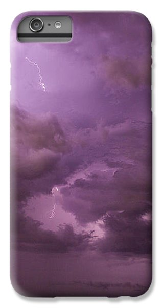 Nebraskasc iPhone 6s Plus Case - Nebraska Night Thunderstorm Beast 001 by NebraskaSC