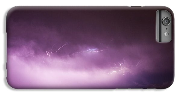 Nebraskasc iPhone 6s Plus Case - Nebraska Night Thunderstorms 013 by NebraskaSC