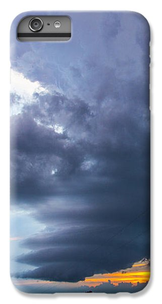 Nebraskasc iPhone 6s Plus Case - Nebraska Supercell 025 by NebraskaSC