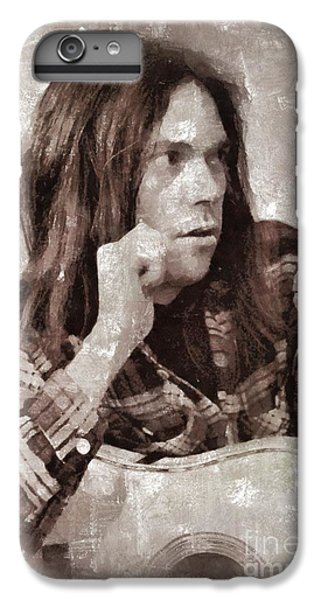 Neil Young By Mary Bassett IPhone 6s Plus Case