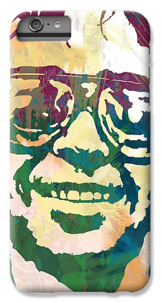 Neil Young Pop Stylised Art Poster IPhone 6s Plus Case