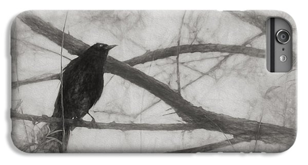 Nevermore IPhone 6s Plus Case by Melinda Wolverson