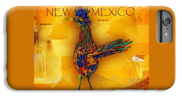 Roadrunner iPhone 6s Plus Case - New Mexico Roadrunner by Barbara Chichester