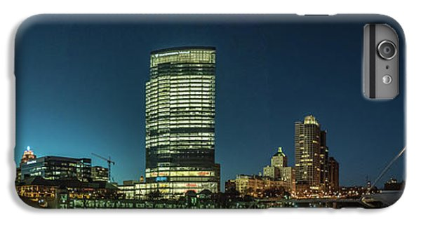 IPhone 6s Plus Case featuring the photograph New Milwaukee Skyline by Randy Scherkenbach