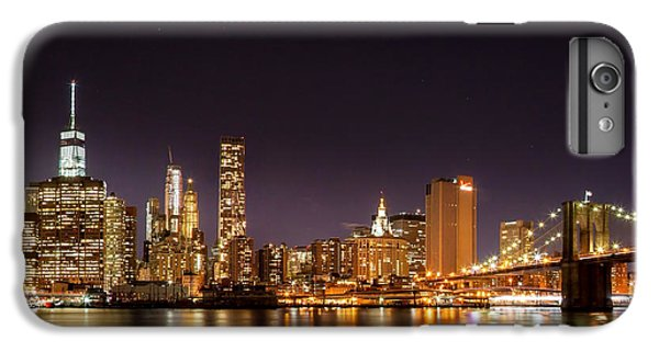 New York City Lights At Night IPhone 6s Plus Case by Az Jackson