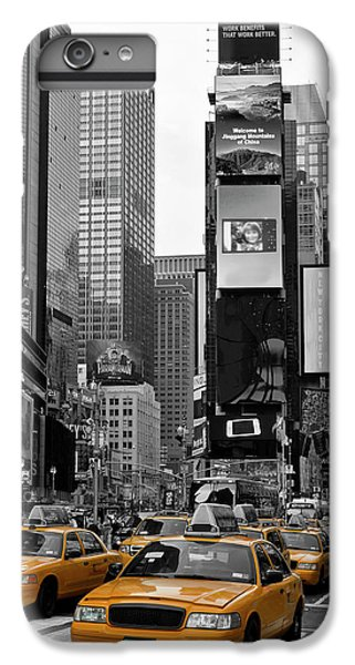 City iPhone 6s Plus Case - New York City Times Square  by Melanie Viola