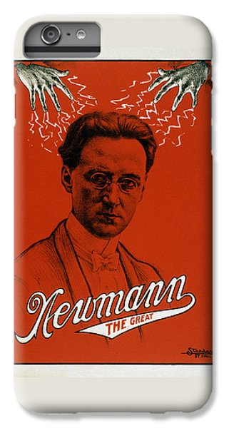 Newmann The Great - Vintage Magic IPhone 6s Plus Case by War Is Hell Store