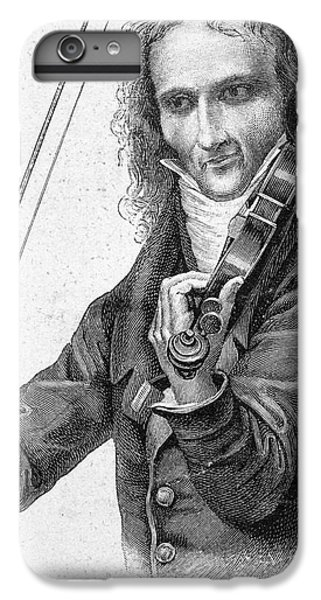 Violin iPhone 6s Plus Case - Nicolo Paganini by Granger