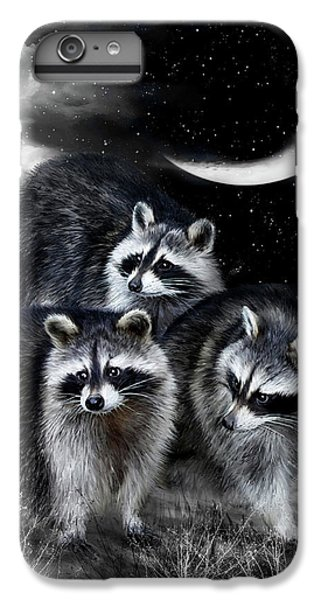 Night Bandits IPhone 6s Plus Case by Carol Cavalaris