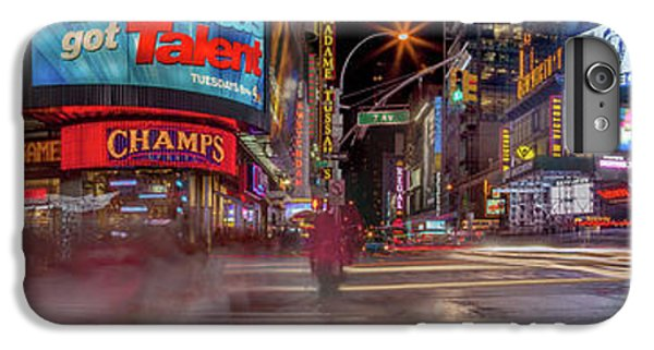 Times Square iPhone 6s Plus Case - Nights On Broadway by Az Jackson