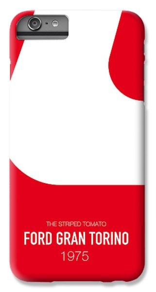 Austin iPhone 6s Plus Case - No003 My Starsky And Hutch Minimal Movie Car Poster by Chungkong Art