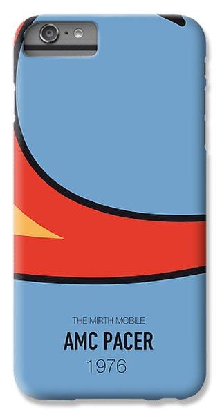 Duke iPhone 6s Plus Case - No010 My Waynes World Minimal Movie Car Poster by Chungkong Art