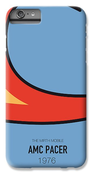 Knight iPhone 6s Plus Case - No010 My Waynes World Minimal Movie Car Poster by Chungkong Art