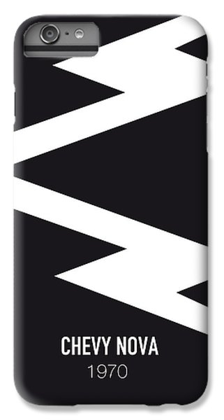 Duke iPhone 6s Plus Case - No012 My Death Proof Minimal Movie Car Poster by Chungkong Art