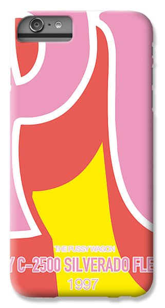 Knight iPhone 6s Plus Case - No013 My Kill Bill Minimal Movie Car Poster by Chungkong Art
