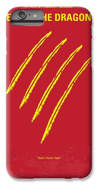 Dragon iPhone 6s Plus Case - No026 My Enter The Dragon Minimal Movie Poster by Chungkong Art