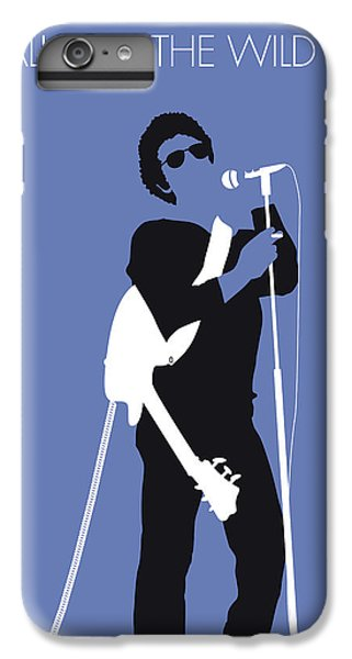 Fairy iPhone 6s Plus Case - No068 My Lou Reed Minimal Music Poster by Chungkong Art