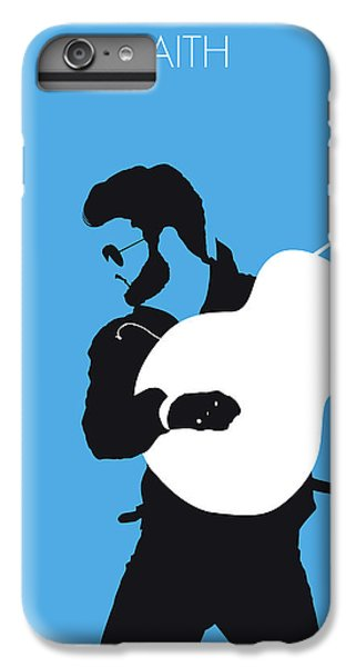 Rhythm And Blues iPhone 6s Plus Case - No089 My George Michael Minimal Music Poster by Chungkong Art
