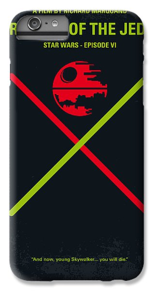 Knight iPhone 6s Plus Case - No156 My Star Wars Episode Vi Return Of The Jedi Minimal Movie Poster by Chungkong Art