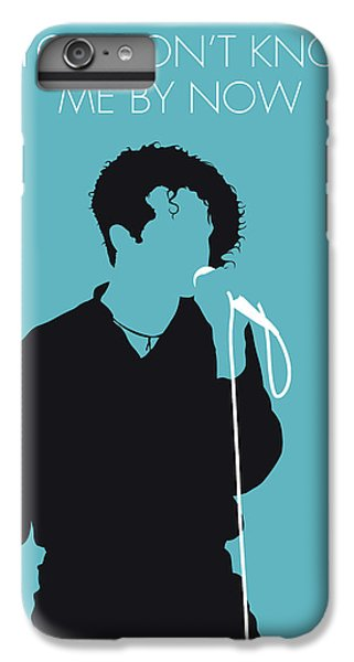 Rhythm And Blues iPhone 6s Plus Case - No165 My Simply Red Minimal Music Poster by Chungkong Art