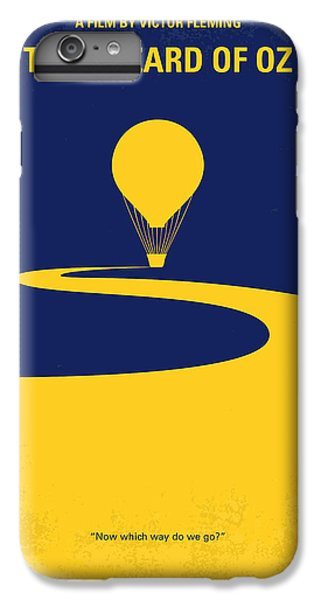 Wizard iPhone 6s Plus Case - No177 My Wizard Of Oz Minimal Movie Poster by Chungkong Art