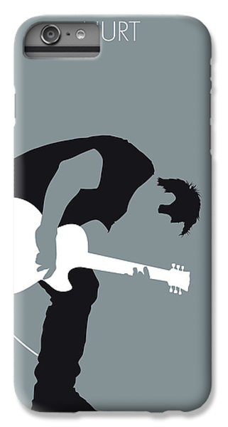 Johnny Cash iPhone 6s Plus Case - No197 My Nine Inch Nails Minimal Music Poster by Chungkong Art