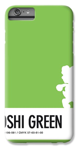 Daisy iPhone 6s Plus Case - No36 My Minimal Color Code Poster Yoshi by Chungkong Art