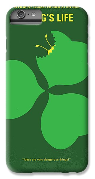 No401 My A Bugs Life Minimal Movie Poster IPhone 6s Plus Case by Chungkong Art