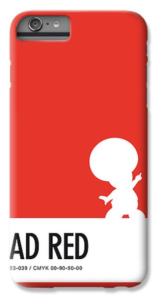 Floral iPhone 6s Plus Case - No41 My Minimal Color Code Poster Toad by Chungkong Art