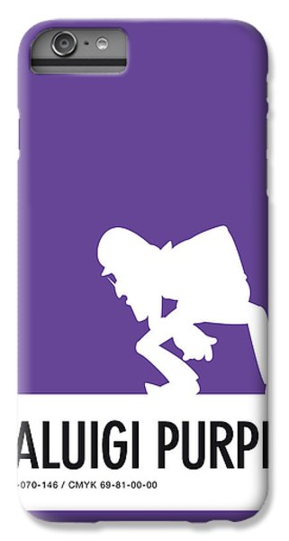 Daisy iPhone 6s Plus Case - No42 My Minimal Color Code Poster Waluigi by Chungkong Art
