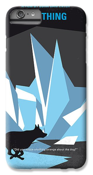 Helicopter iPhone 6s Plus Case - No466 My The Thing Minimal Movie Poster by Chungkong Art