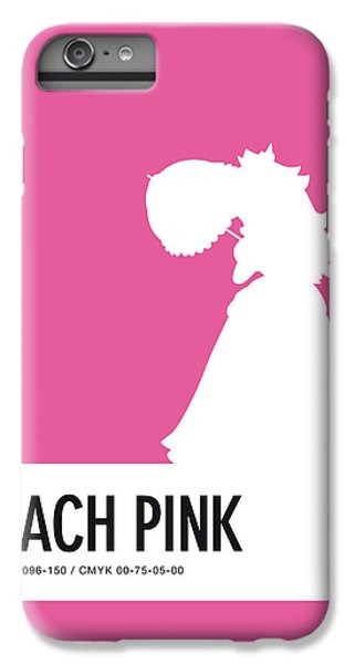 Daisy iPhone 6s Plus Case - No44 My Minimal Color Code Poster Peach by Chungkong Art