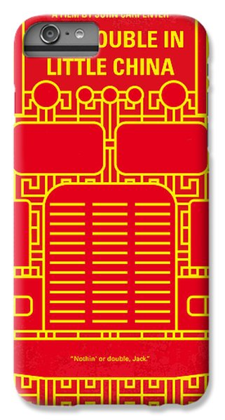 Truck iPhone 6s Plus Case - No515 My Big Trouble In Little China Minimal Movie Poster by Chungkong Art