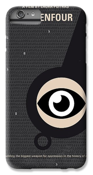 No598 My Citizenfour Minimal Movie Poster IPhone 6s Plus Case by Chungkong Art