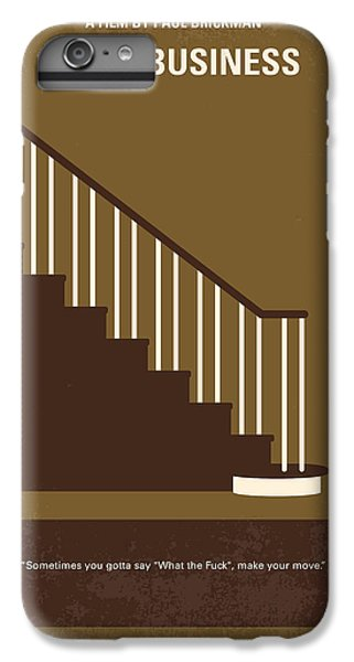 Lake Michigan iPhone 6s Plus Case - No615 My Risky Business Minimal Movie Poster by Chungkong Art