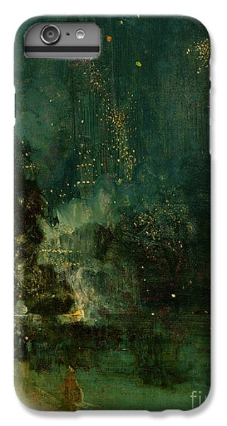 Explosion iPhone 6s Plus Case - Nocturne In Black And Gold - The Falling Rocket by James Abbott McNeill Whistler