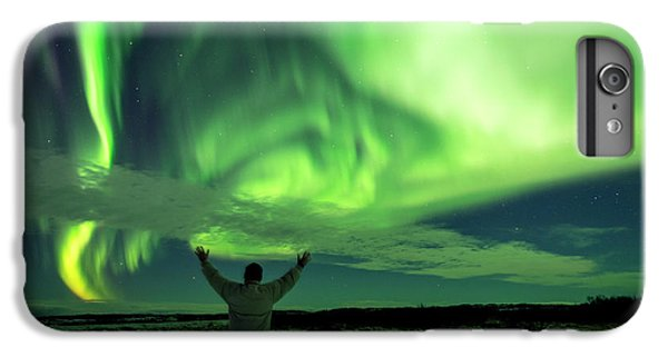 Northern Light In Western Iceland IPhone 6s Plus Case by Dubi Roman