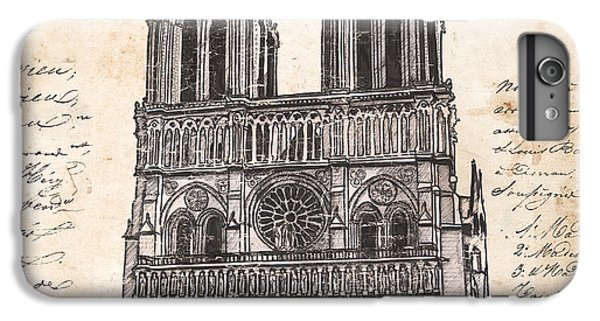 Notre Dame De Paris IPhone 6s Plus Case by Debbie DeWitt