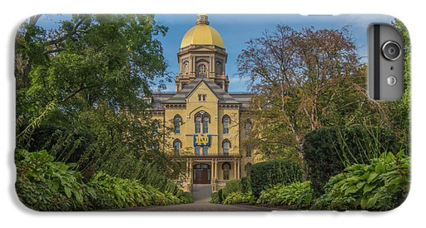 Notre Dame University Q IPhone 6s Plus Case by David Haskett