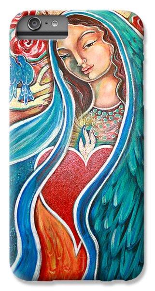 Bluebird iPhone 6s Plus Case - Nuestra Senora Maestosa by Shiloh Sophia McCloud