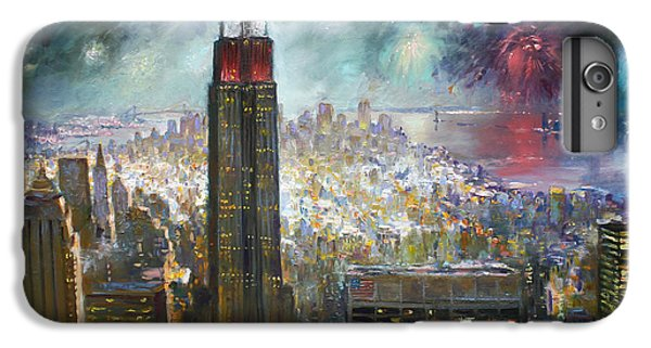Nyc. Empire State Building IPhone 6s Plus Case by Ylli Haruni