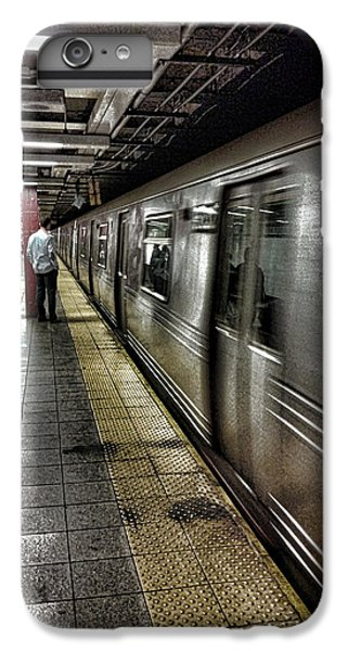 Nyc Subway IPhone 6s Plus Case by Martin Newman