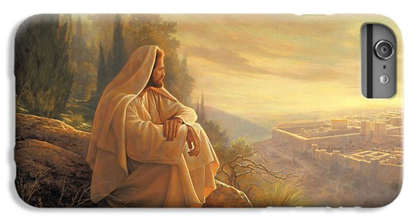 iPhone 6s Plus Case - O Jerusalem by Greg Olsen
